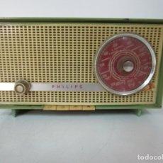 Radios de válvulas: RADIO PHILIPS - MODELO B2 14 A - CAJA DE BAQUELITA. Lote 179024438
