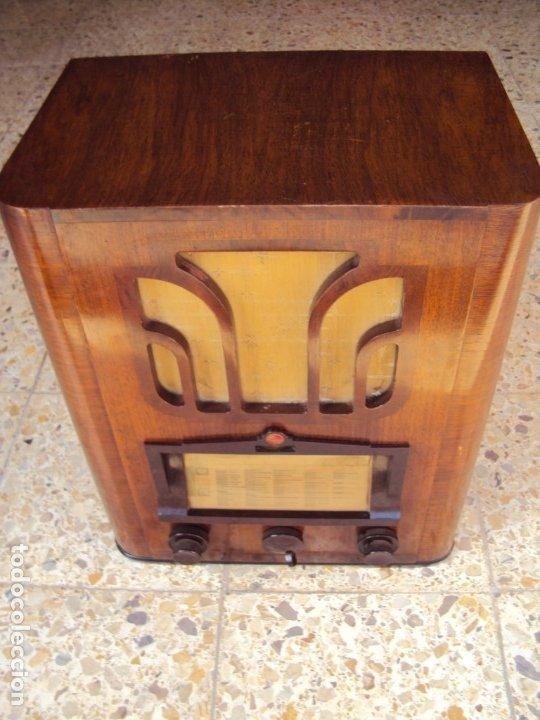 (RA-191000)MODELO 535A - PHILIPS EINDHOVEN - TUBES INTERNATIONAL - MINIWATT - 1935/36 (Radios, Gramófonos, Grabadoras y Otros - Radios de Válvulas)