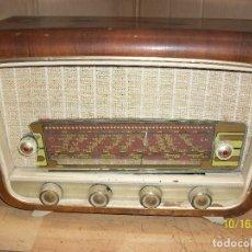 Radios de válvulas: ANTIGUA RADIO-SIN MARCA-FUNCIONA. Lote 179548868