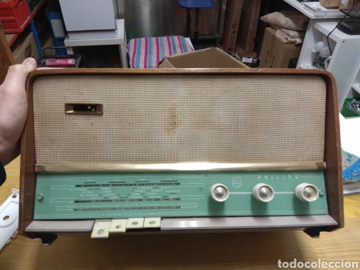 RADIO ANTIGUA PHILIPS (Radios, Gramófonos, Grabadoras y Otros - Radios de Válvulas)