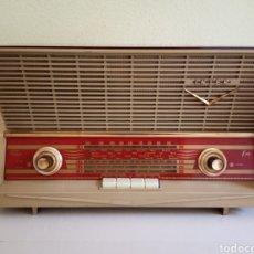 Radios de válvulas: ANTIGUA RADIO DE VÁLVULAS INTER MODELO HAITI. Lote 180121625