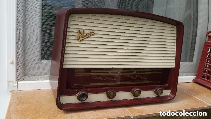 RADIO DE VALVULAS MARCONI (Radios, Gramófonos, Grabadoras y Otros - Radios de Válvulas)