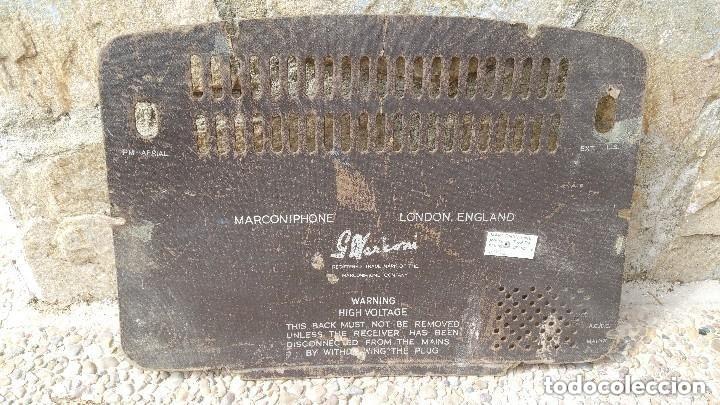 Radios de válvulas: Radio de valvulas Marconi - Foto 2 - 181610847