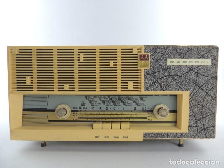 RADIO DE VALVULAS MARCONI AM-3301 LICENCIA ESPAÑOLA. 1967. AM.125 V (Radios, Gramófonos, Grabadoras y Otros - Radios de Válvulas)