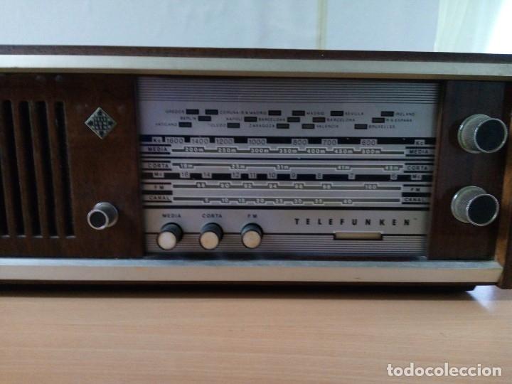 Radios de válvulas: APARATO DE RADIO TELEFUNKEN - Foto 3 - 181931697