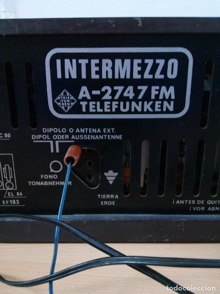 Radios de válvulas: APARATO DE RADIO TELEFUNKEN - Foto 6 - 181931697