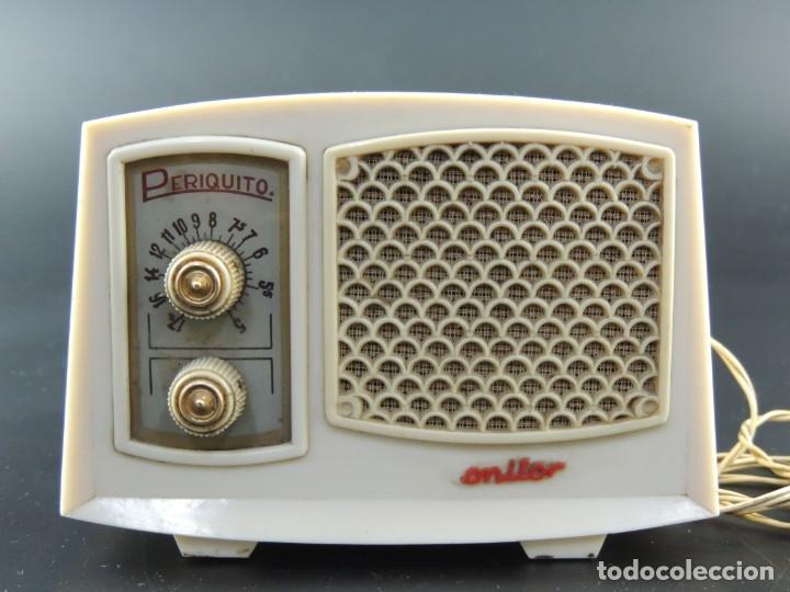 PEQUEÑA RADIO DE VÁLVULAS PERIQUITO MONITOR - LUIS FREIXA BARCELONA (Radios, Gramófonos, Grabadoras y Otros - Radios de Válvulas)