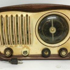 Radios de válvulas: ANTIGUA RADIO DE VÁLVULAS ESPAÑOLA MARCA VERTICE. Lote 182475287
