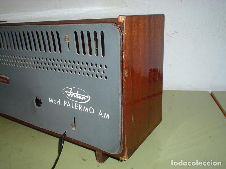 Radios de válvulas: RADIO INTER PALERMO AM - Foto 2 - 182540676