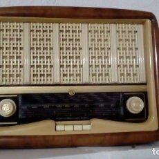 Radios de válvulas: RADIO VICA AÑOS 50 DE VÁLVULAS. CON FACTURA DE COMPRA.. Lote 182587445