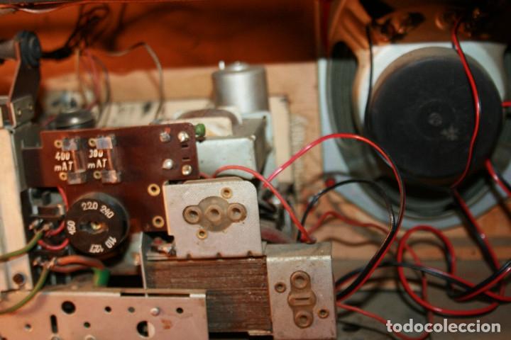 Radios de válvulas: Muy bonita Radio de válvulas Tungsram 4500, no funciona, para decoracion o para reparar - Foto 22 - 116833796