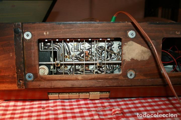 Radios de válvulas: Muy bonita Radio de válvulas Tungsram 4500, no funciona, para decoracion o para reparar - Foto 27 - 116833796