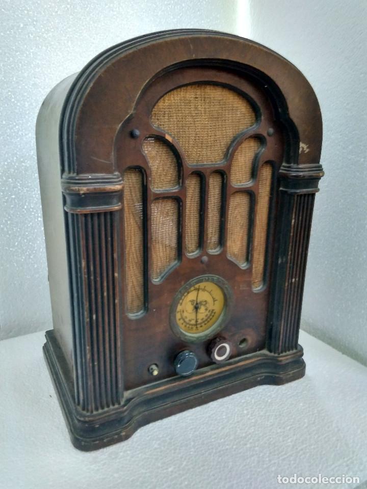 RADIO ANTIGUA ATWAKER KENT 506 (Radios, Gramófonos, Grabadoras y Otros - Radios de Válvulas)