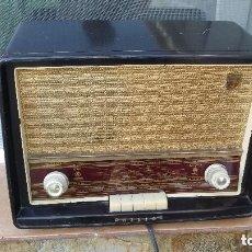 Radios de válvulas: RADIO DE VALVULAS PHILIPS. Lote 182858031