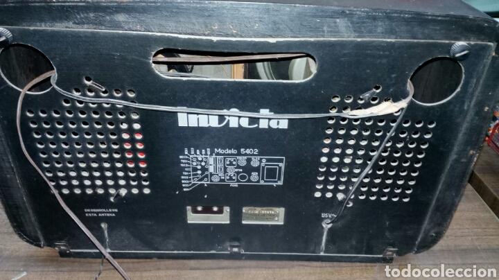 Radios de válvulas: Radio Antigua Invicta Modelo 5402 - Foto 6 - 183179627