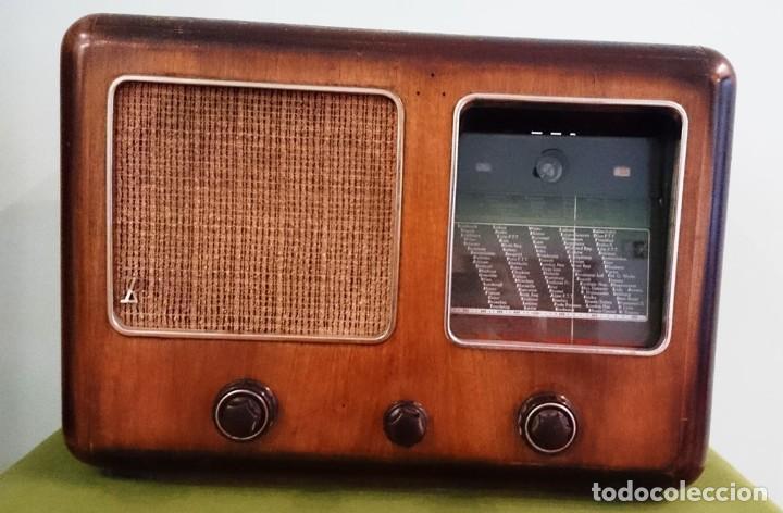 APARATO DE RADIO JNG NICOLAUS ELTZ TYPE 1938 (Radios, Gramófonos, Grabadoras y Otros - Radios de Válvulas)