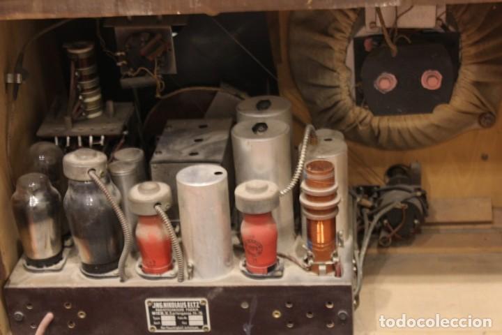 Radios de válvulas: Aparato de radio JNG Nicolaus Eltz Type 1938 - Foto 4 - 183552970