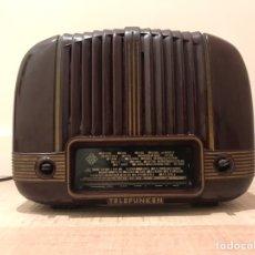 Radios de válvulas: RADIO VALVULAS TELEFUNKEN PANCHITO BAQUELITA ANTIGUA VINTAGE. Lote 183589267