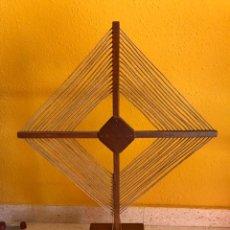 Radios de válvulas: ANTENA DE CUADRO PARA RADIO VALVULAS. Lote 183679998