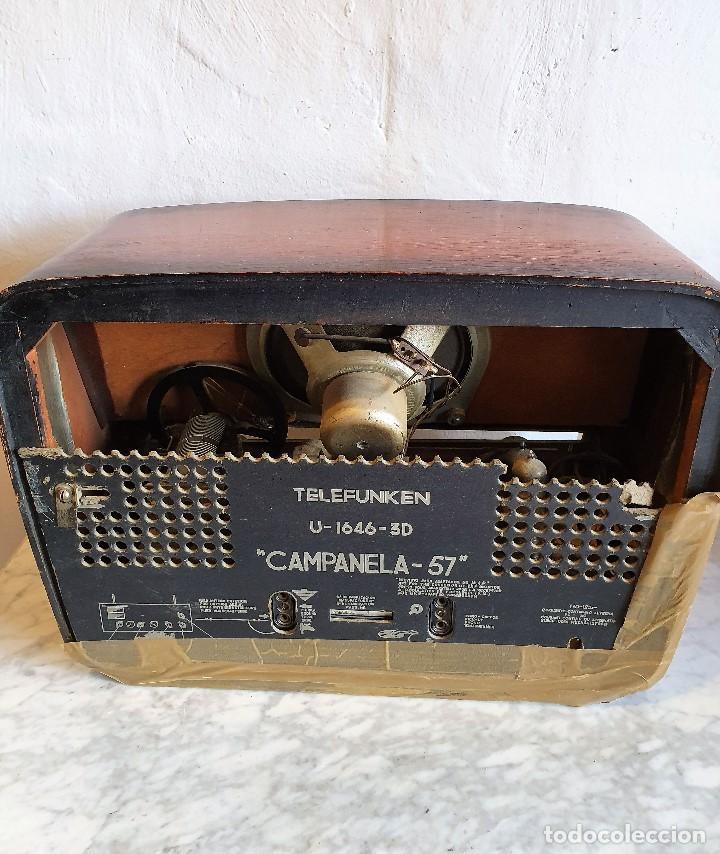 Radios de válvulas: RADIO TELEFUNKEN - Foto 2 - 183919388
