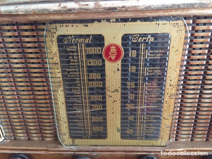 Radios de válvulas: Antigua radio - Foto 2 - 183952107