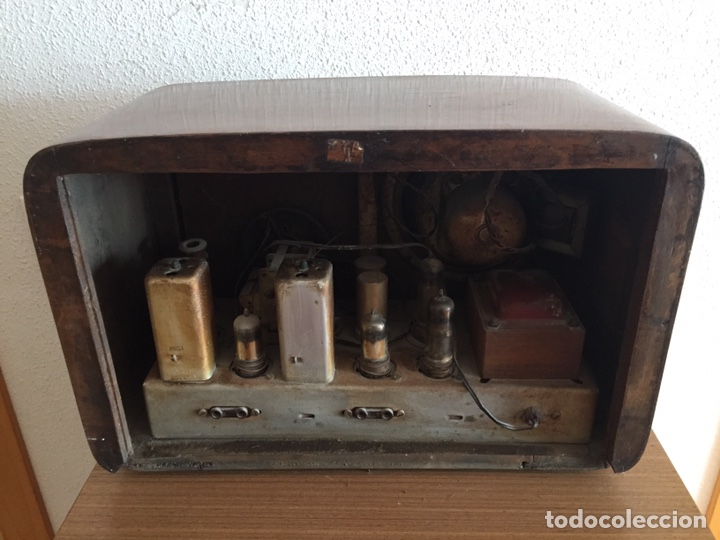 Radios de válvulas: Antigua radio - Foto 4 - 183952107