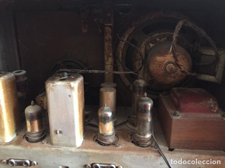 Radios de válvulas: Antigua radio - Foto 6 - 183952107