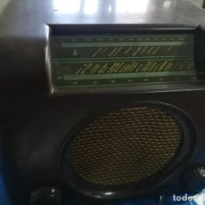 Radios de válvulas: BUSH RADIO FUNCIONADO.. Lote 184200673