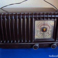 Radios de válvulas: (RA-191100)RADIO DE BAQUELITA PHILIPS. Lote 184295488