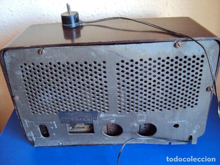 Radios de válvulas: (RA-191100)RADIO DE BAQUELITA PHILIPS - Foto 12 - 184295488