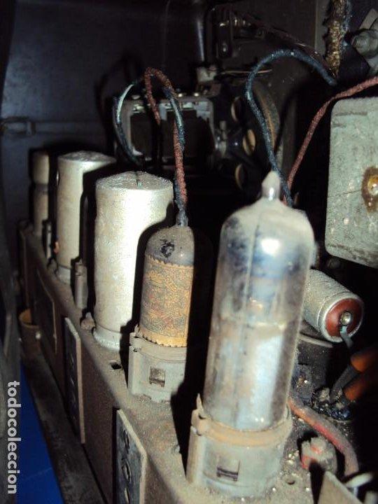 Radios de válvulas: (RA-191100)RADIO DE BAQUELITA PHILIPS - Foto 17 - 184295488