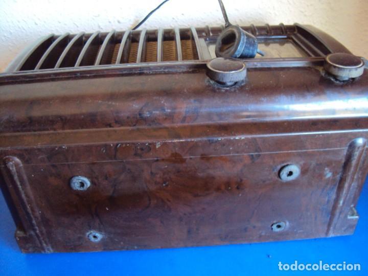 Radios de válvulas: (RA-191100)RADIO DE BAQUELITA PHILIPS - Foto 22 - 184295488
