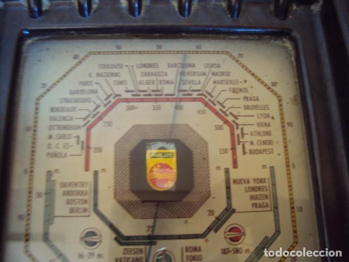 Radios de válvulas: (RA-191100)RADIO DE BAQUELITA PHILIPS - Foto 25 - 184295488