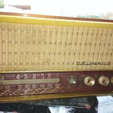 Radios de válvulas: RADIO DE WALD. Lote 186025086