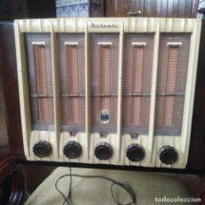 Radios de válvulas: ANTIGUA RADIO MARCONI, PERFECTO ESTADO. Lote 187176291
