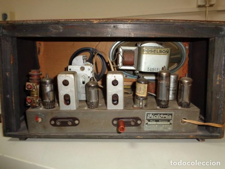 Radios de válvulas: radio Victoria años 60 - Foto 2 - 187207245