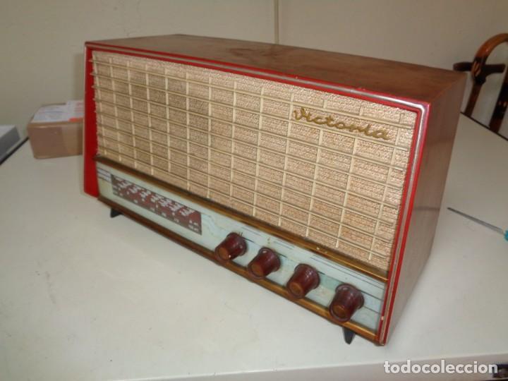 Radios de válvulas: radio Victoria años 60 - Foto 4 - 187207245