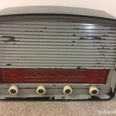 Radios de válvulas: RADIO ANTIGUA FUNCIONANDO MARCONIPHONE T84 BT. Lote 189140871