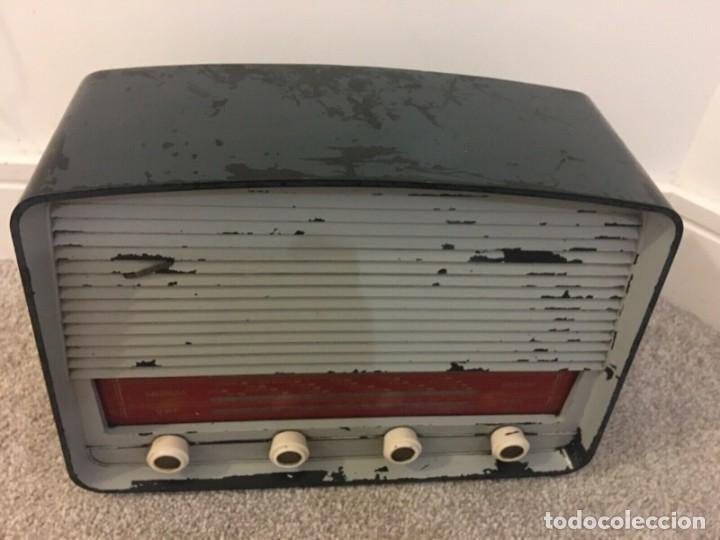 Radios de válvulas: RADIO ANTIGUA FUNCIONANDO MARCONIPHONE T84 Bt - Foto 2 - 189140871