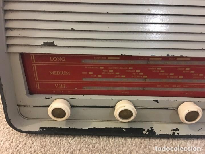 Radios de válvulas: RADIO ANTIGUA FUNCIONANDO MARCONIPHONE T84 Bt - Foto 3 - 189140871