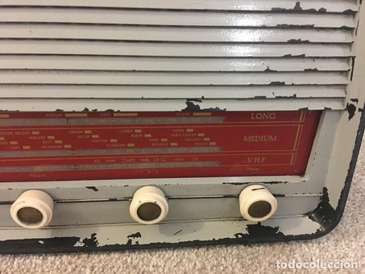 Radios de válvulas: RADIO ANTIGUA FUNCIONANDO MARCONIPHONE T84 Bt - Foto 4 - 189140871
