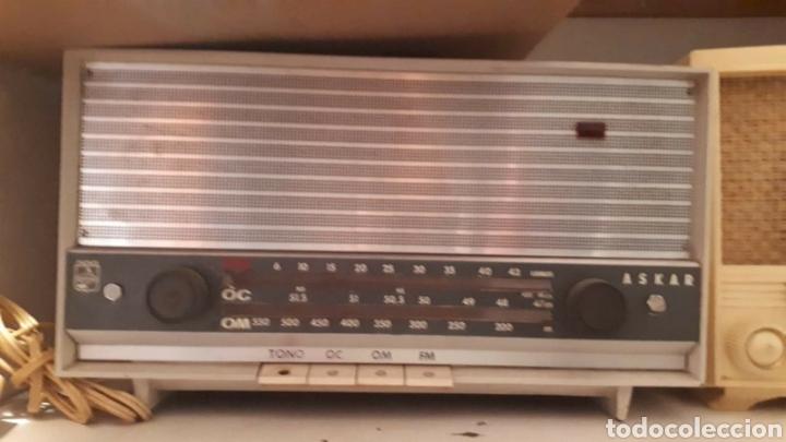 RADIO DE VALVULASASKAR AE1355 A (Radios, Gramófonos, Grabadoras y Otros - Radios de Válvulas)