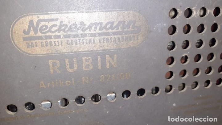Radios de válvulas: Radio de valvulas de la marca neckerman - Foto 2 - 189576720