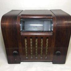 Radios de válvulas: ANTIGUA RADIO SUPER 4W6 BY BLAUPUNKT BERLÍN-ALEMANIA 1934/1935 DE GRAN USO EN ALEMANIA DURANTE LA SE. Lote 189736133