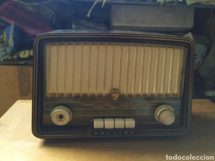 Radios de válvulas: Radio de valvulas PHILIPS BE 362 U - Foto 2 - 189748101