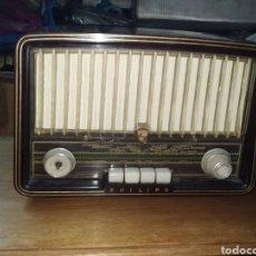 Radios de válvulas: RADIO DE VALVULAS PHILIPS BE 362 U. Lote 189748101