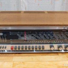 Radios de válvulas: RADIO RECEPTOR Y AMPLIFICADOR SABA HIFI STUDIO III STEREO E AÑO 1966. Lote 189948238