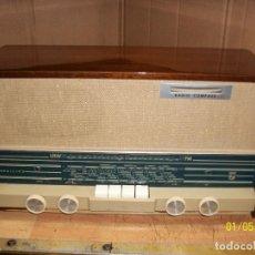 Radios de válvulas: ANTIGUA RADIO PHILIPS-MODELO B3X 32A-FUNCIONA. Lote 190011282