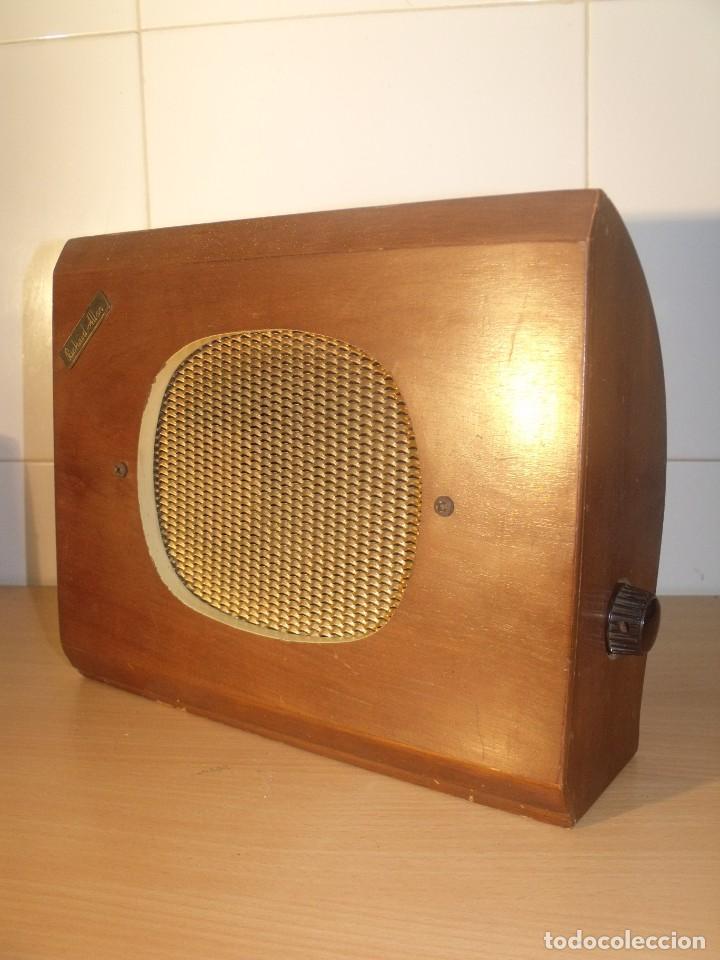 ALTAVOZ EXTERNO PARA RADIO, 1940-1950, RICHARD ALLAN MOD. BABY BAFFLETTE (Radios, Gramófonos, Grabadoras y Otros - Radios de Válvulas)