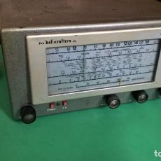 Radios à lampes: HALLICRAFTERS S38D (VER VIDEO). Lote 190402836
